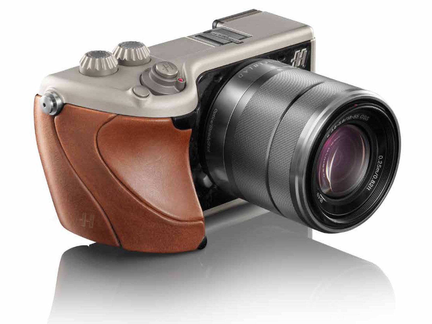 Hasselblad Lunar Brown Tuscany Leather and Titanium