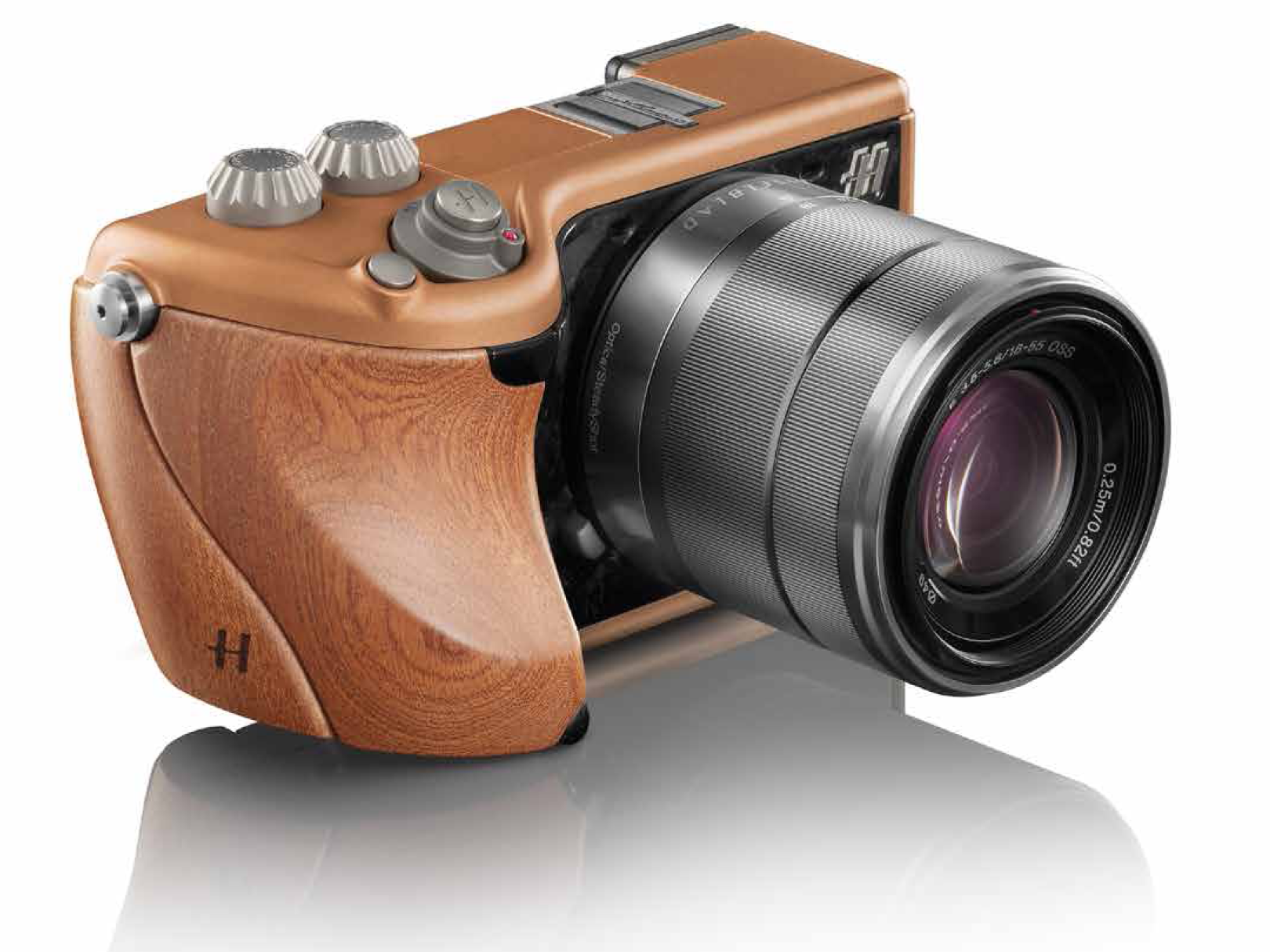 Hasselblad Lunar Mahogany Wood and Copper