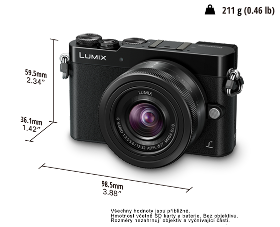 Panasonic LUMIX DMC-GM5K