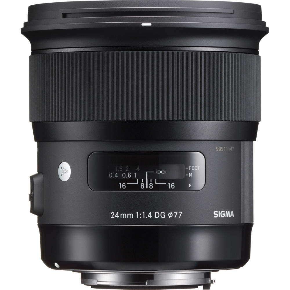 SIGMA 24 mm f/1,4 DG HSM Art