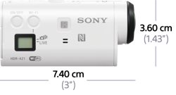 Sony Action Cam Mini AZ1VR