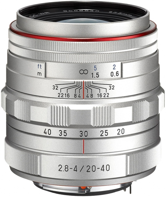 PENTAX 20-40 mm f/2,8-4 DA ED HD DC WR Ltd.