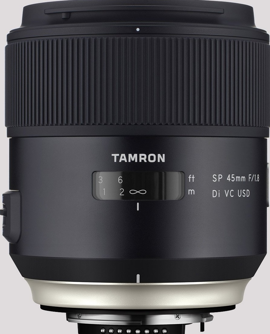 TAMRON 45 mm f/1,8 SP Di VC USD