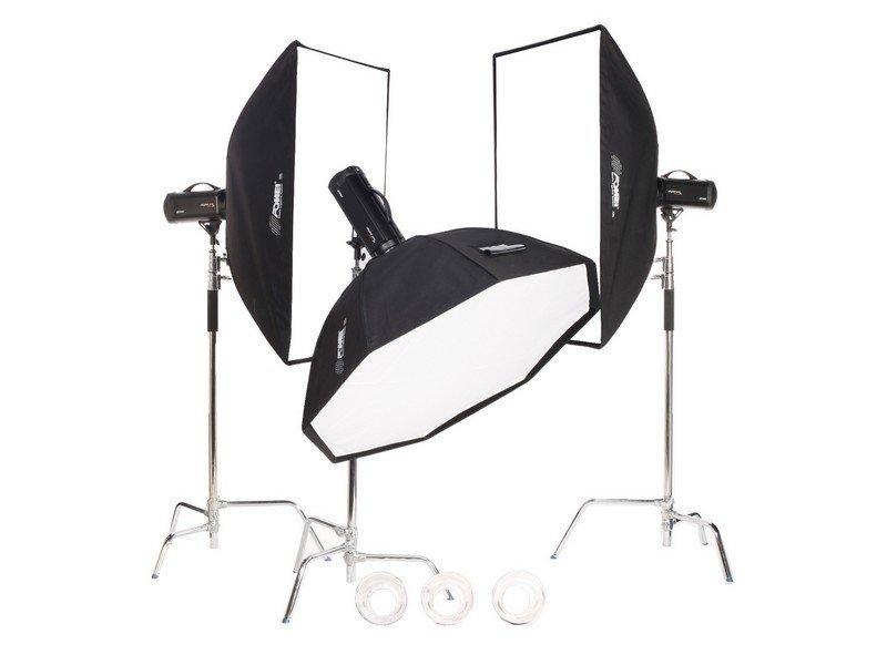 FOMEI Digital Pro X 1200/500/500 kit studiových blesků