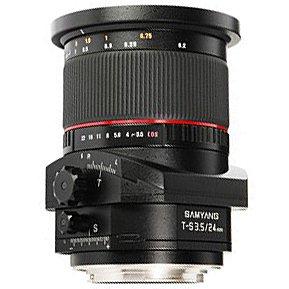 SAMYANG 24 mm f/3,5 Tilt-Shift ED AS UMC pro Pentax K