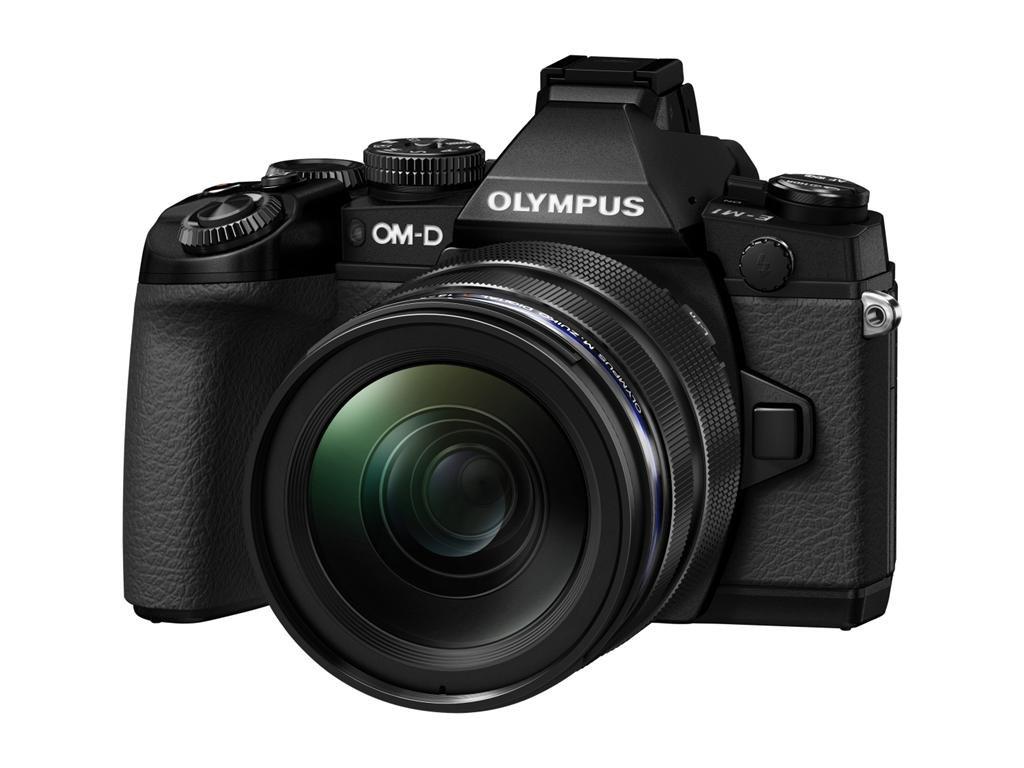 OLYMPUS E-M1 černý + 12-40mm