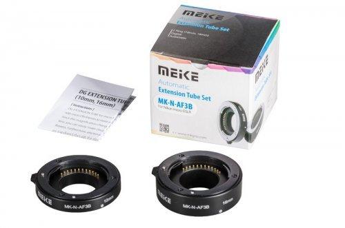 MEIKE Mezikroužky set 10/16 mm pro Nikon 1