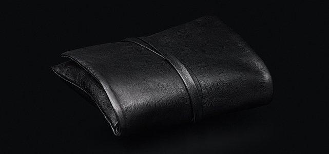 LEICA pouzdro kožené zavinovací C-Pouch černé pro Leicu C