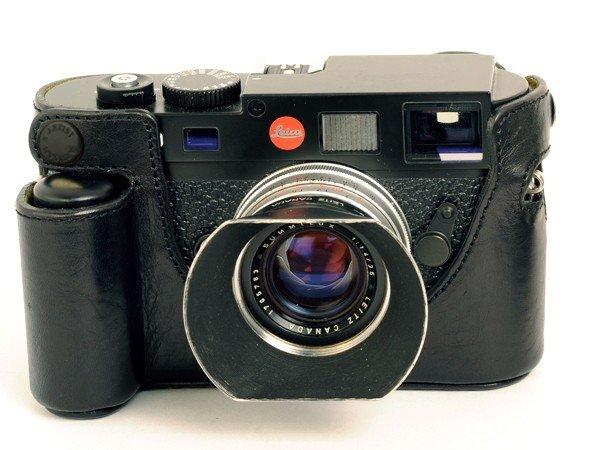 ARTISAN&ARTIST pouzdro ochranné spodní LMB M9HGN pro Leicu M9/M-E+handgrip černé
