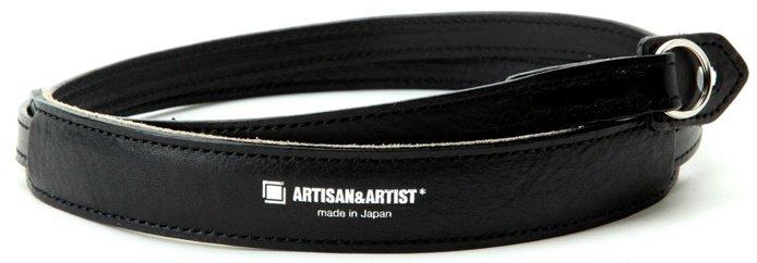 ARTISAN&ARTIST řemínek kožený ACAM-255A černý
