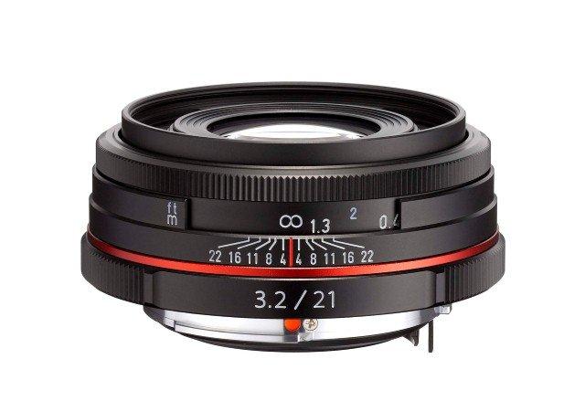 PENTAX 21 mm f/3,2 HD DA ED AL Ltd. černý