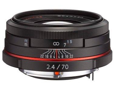 PENTAX 70 mm f/2,4 HD DA Ltd. černý