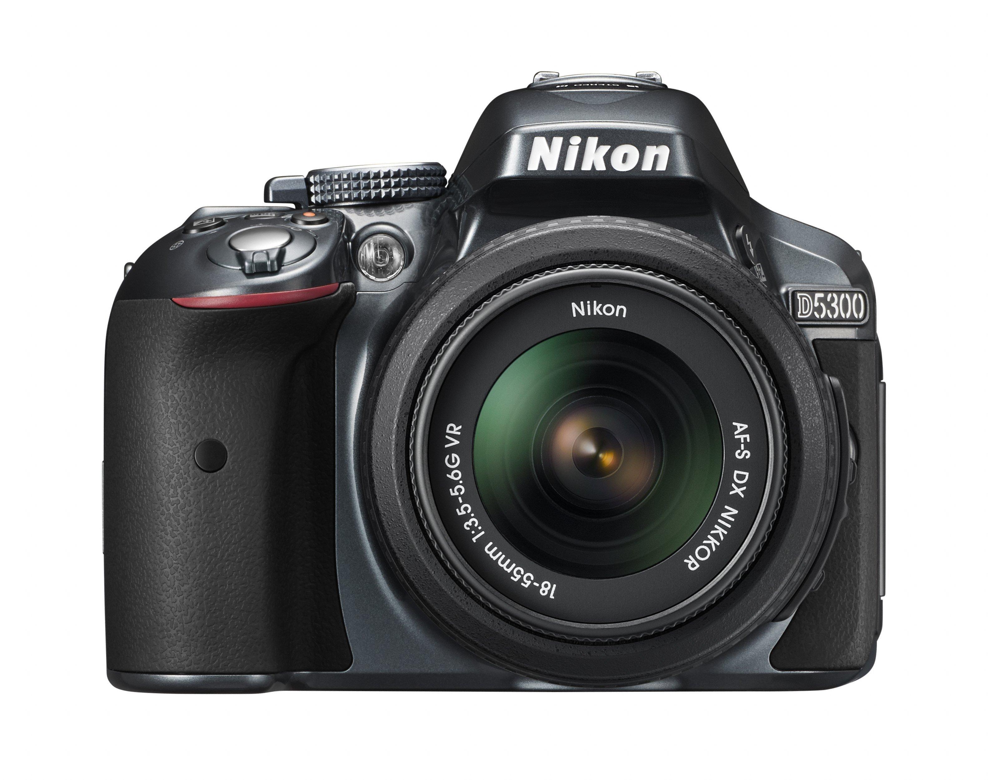 NIKON D5300 stříbrný + 18-55 mm VR