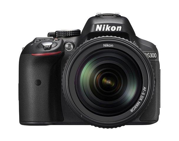 NIKON D5300 + 18-105 mm VR + ZDARMA karta SDHC 16GB
