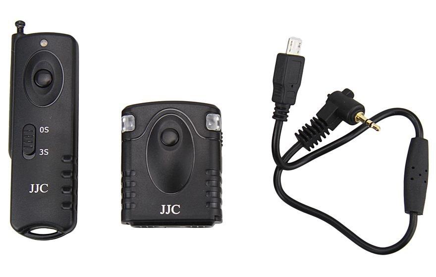 JJC spoušť rádiová JM-R II pro Fujifilm X-M1/T1/E2/A1/A2, XQ1 - 30 m