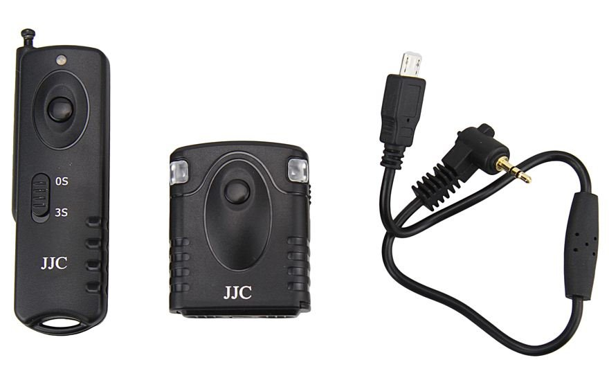 JJC spoušť rádiová JM-RII (RR-90) pro Fujifilm X-M/T/E/A/Q/H1/Pro/X100/70, GFX