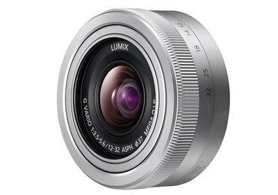 PANASONIC Lumix G Vario 12-32 mm f/3,5-5,6 ASPH Mega O.I.S. - stříbrný
