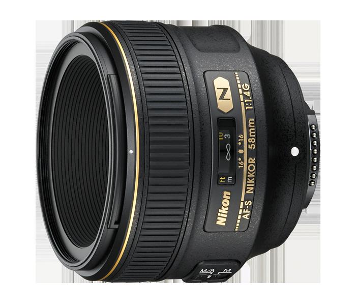 NIKON 58 mm f/1,4 G AF-S