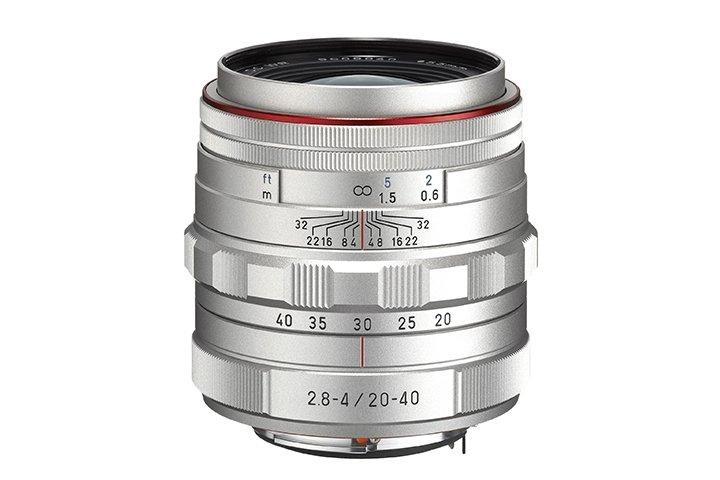 PENTAX 20-40 mm f/2,8-4 DA ED HD DC WR Ltd. stříbrný