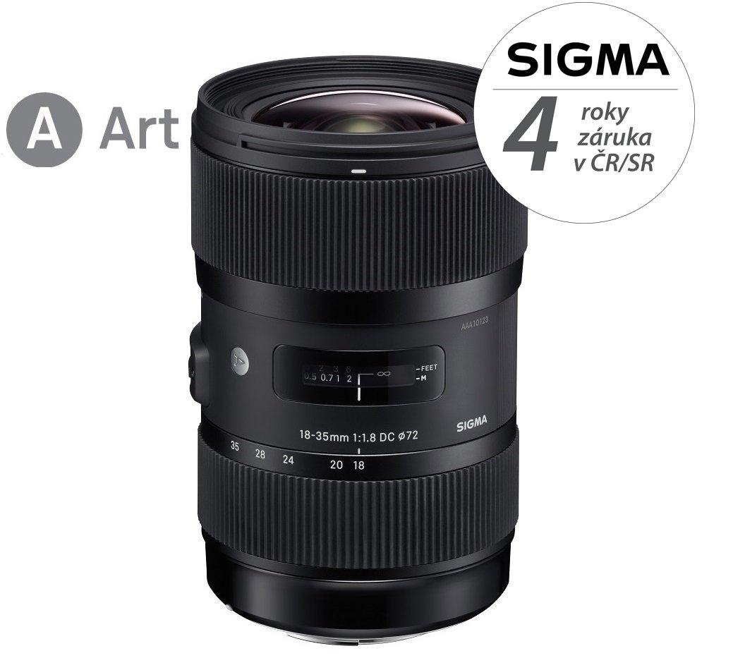 SIGMA 18-35 mm f/1,8 DC HSM Art pro Sony A