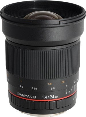 SAMYANG 24 mm f/1,4 ED AS UMC pro Sony E