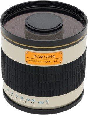 SAMYANG 500 mm f/6,3 Mirror IF MC pro Sony A