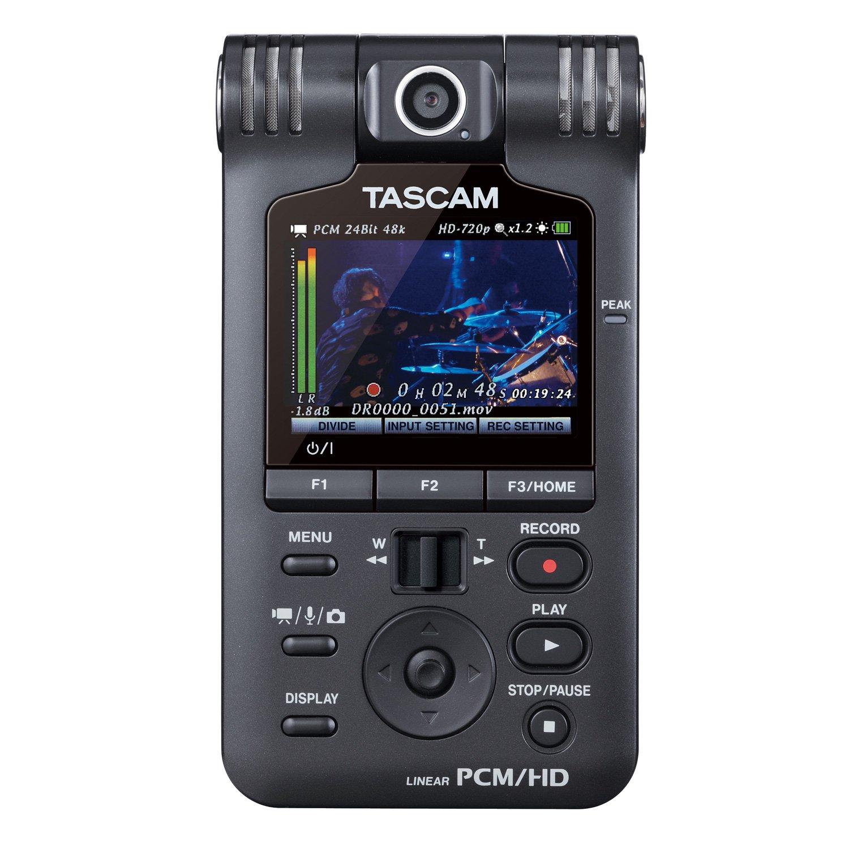TASCAM DR-V1HD ruční audio/video rekordér, 1280x720p HD, 24bit/96kHz,