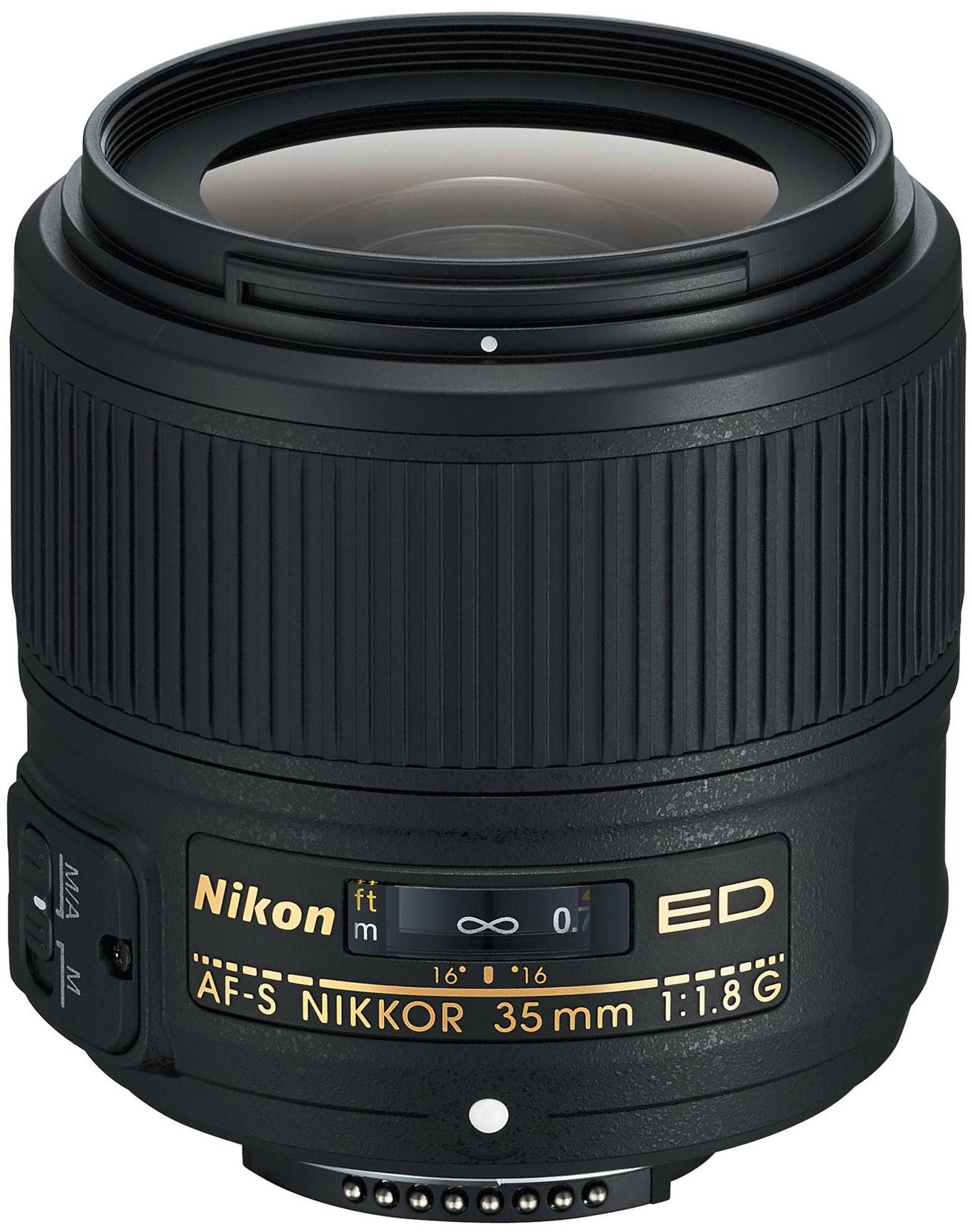 NIKON 35 mm f/1,8 AF-S G