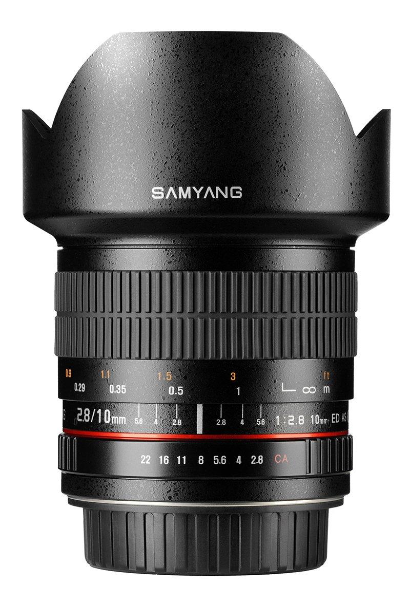 SAMYANG 10 mm f/2,8 ED AS NCS CS pro Nikon AE (APS-C)