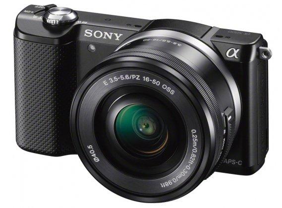 SONY Alpha A5000 černý + 16-50 mm