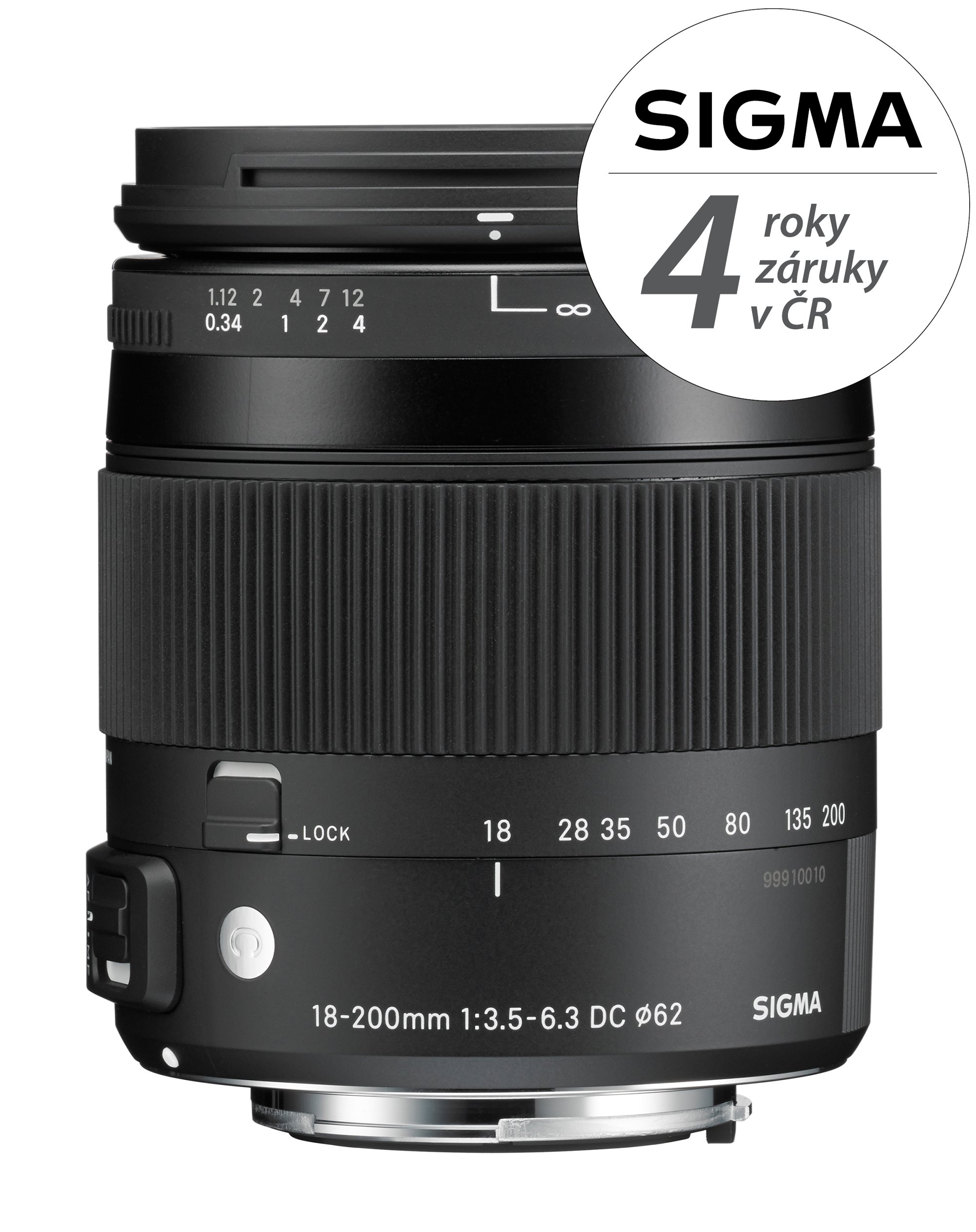 SIGMA 18-200 mm f/3,5-6,3 DC OS HSM Contemporary pro Canon