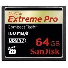 SANDISK CF 64GB EXTREME PRO 160 MB/s UDMA 7