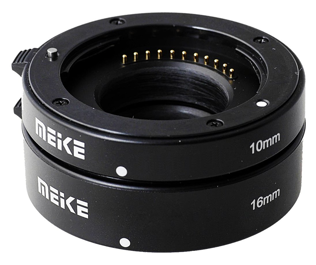 MEIKE Mezikroužky set 10/16 mm pro Olympus/Panasonic MFT