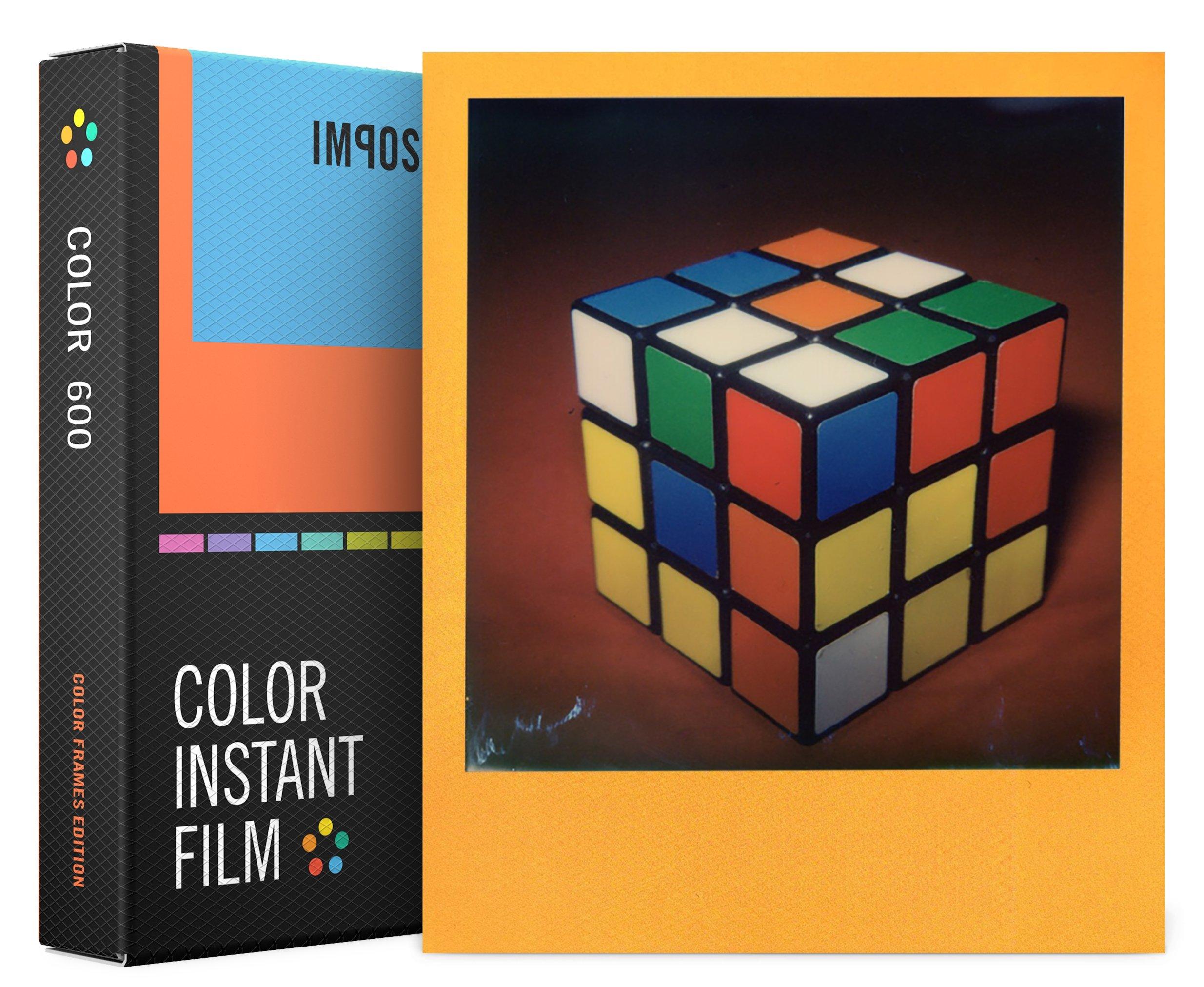 IMPOSSIBLE barevný film pro Polaroid 600/8ks Color Frames