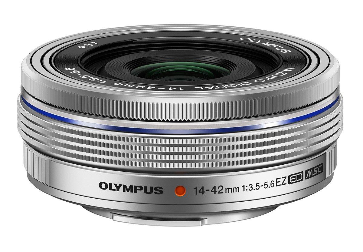 OLYMPUS M.Zuiko Digital 14-42/3,5-5,6 EZ stříbrný
