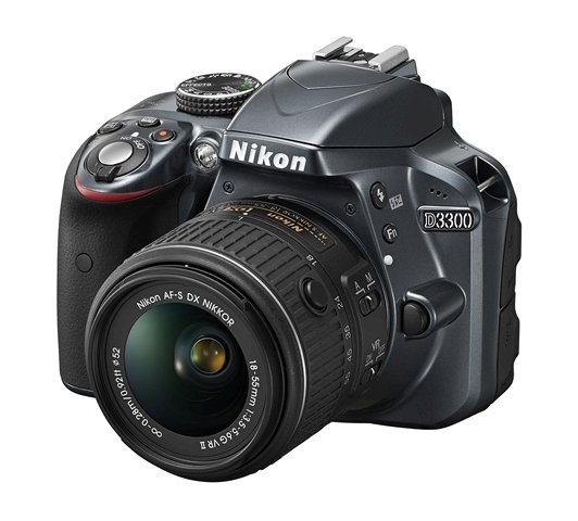 NIKON D3300 stříbrný + 18-55 mm VR II
