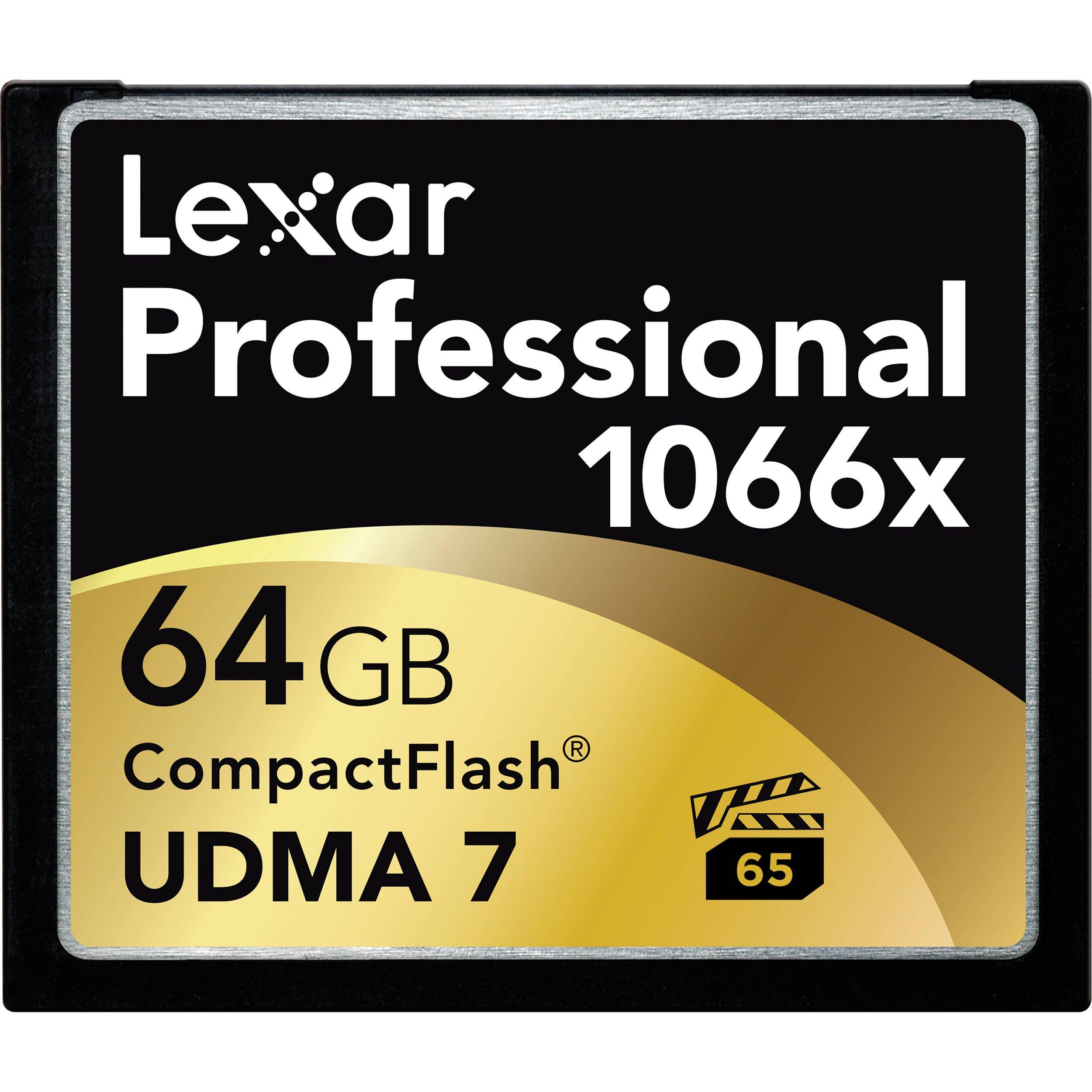 LEXAR CF 64GB 1066x UDMA Professional