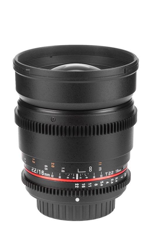 SAMYANG 16 mm T2,2 VDSLR ED AS UMC CS pro Pentax (APS-C)