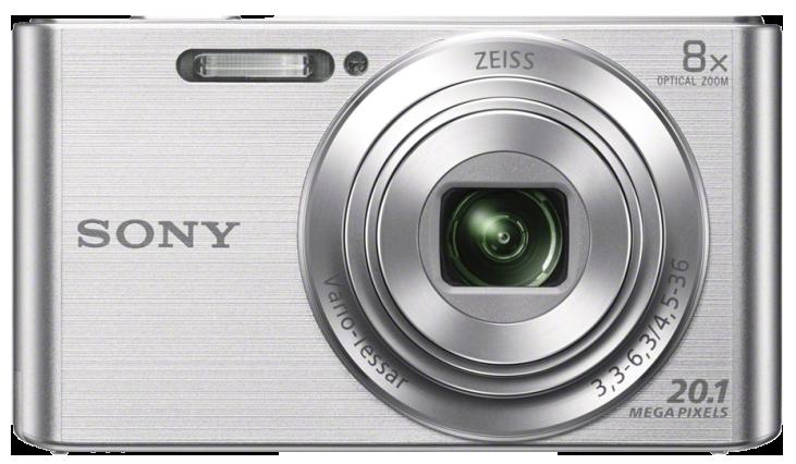 SONY CyberShot DSC-W830 stříbrný + SDHC16GB