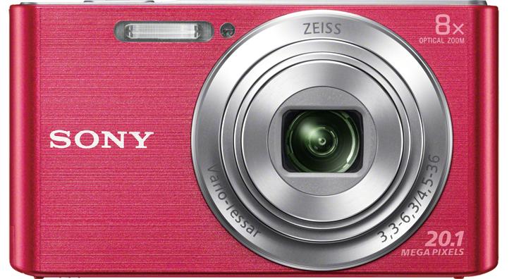 SONY CyberShot DSC-W830 růžový
