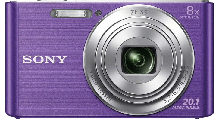 SONY CyberShot DSC-W830 fialový