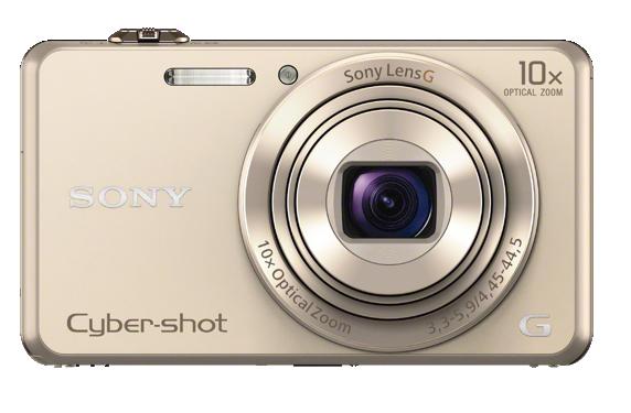 SONY CyberShot DSC-WX220 zlatý