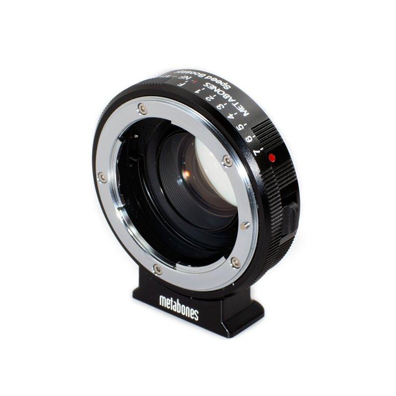 METABONES adaptér objektivu Nikon G na MFT Speed Booster XL 0,64x