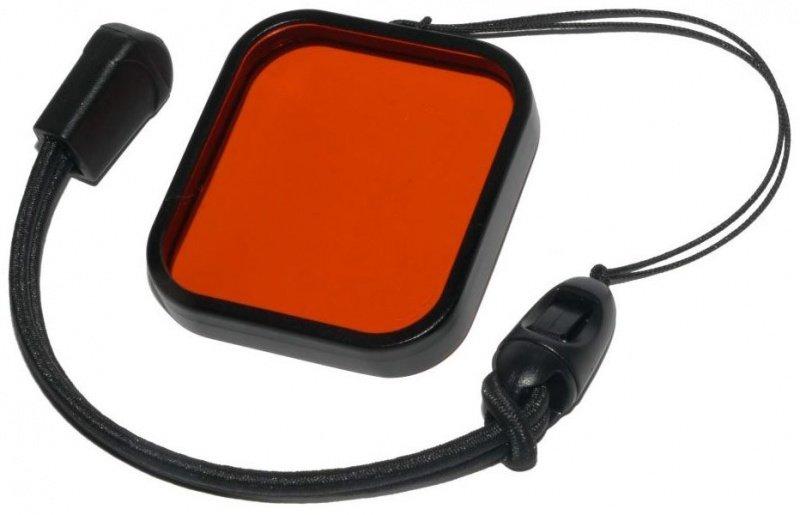 10Bar Červený filtr skleněný pro GoPro HERO3+