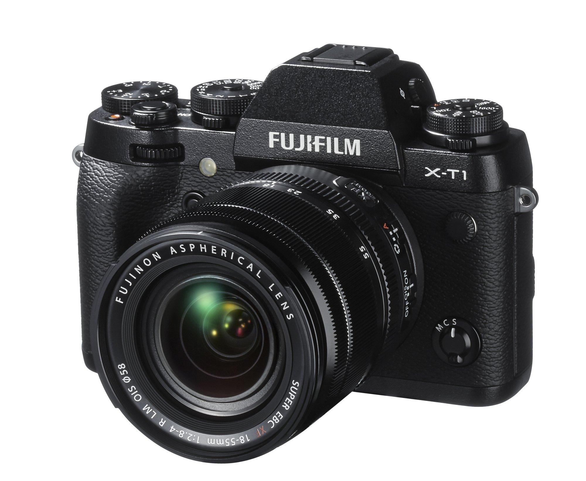 FUJIFILM X-T1 černý + 18-55 mm + získejte zpět 8000 Kč