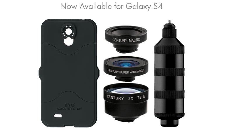 SCHNEIDER iPro Series 2 Trio Kit - sada objektivů pro Samsung Galaxy S4