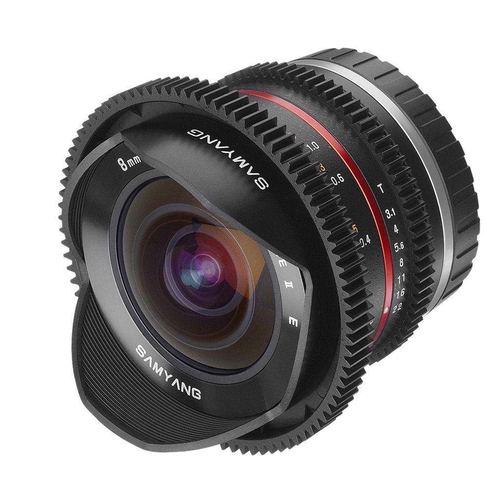 SAMYANG 8 mm T3,1 Cine UMC Fish-eye II pro Fujifilm X