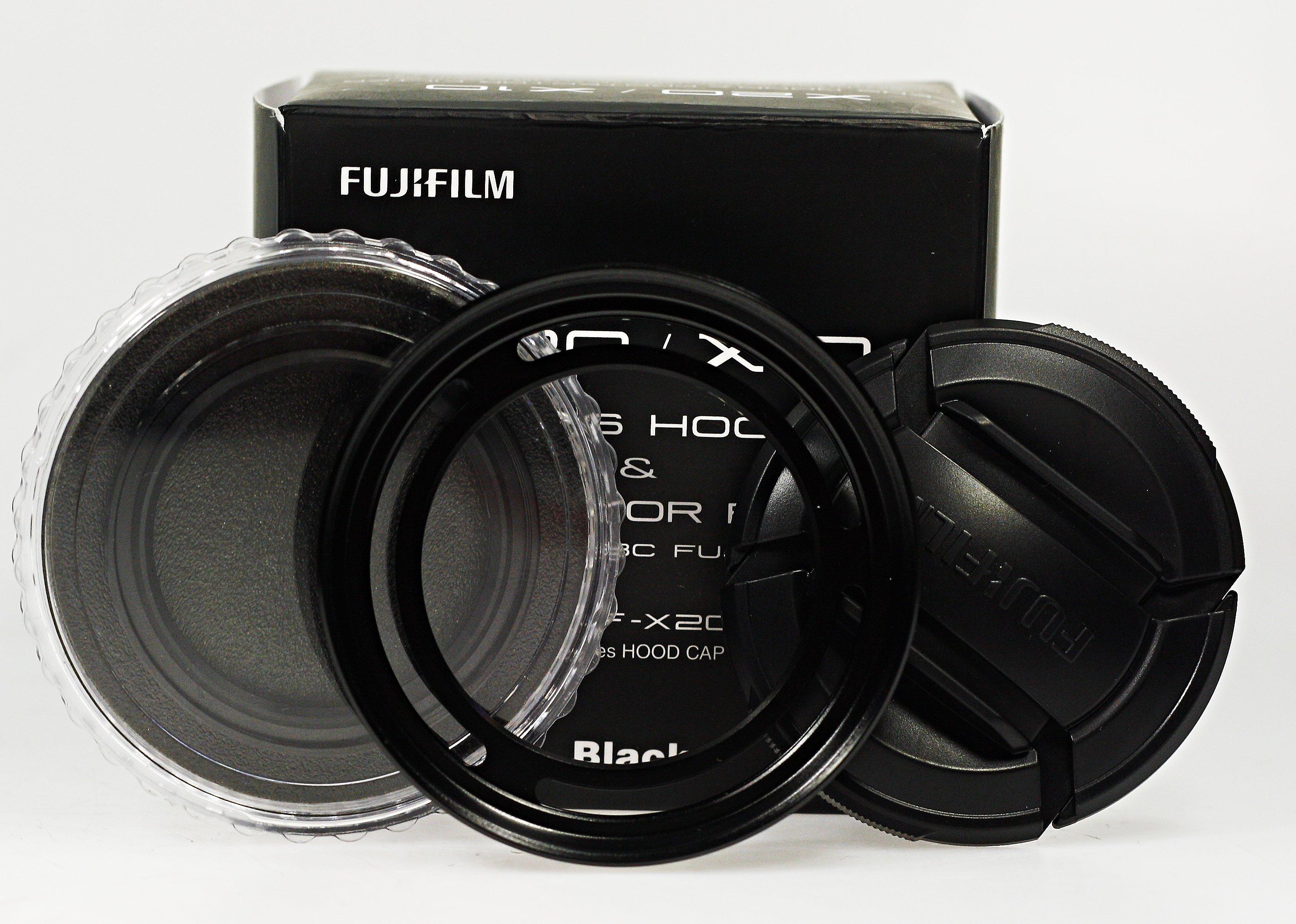 FUJIFILM LHF-X20B sluneční clona a filtr pro X-20/30 černý