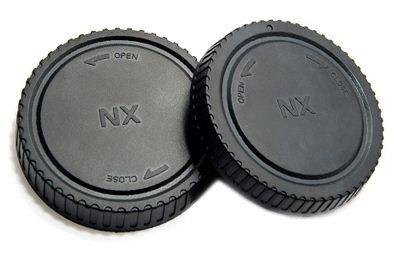 JJC set krytek pro Samsung NX ( tělo + zadní objektiv )