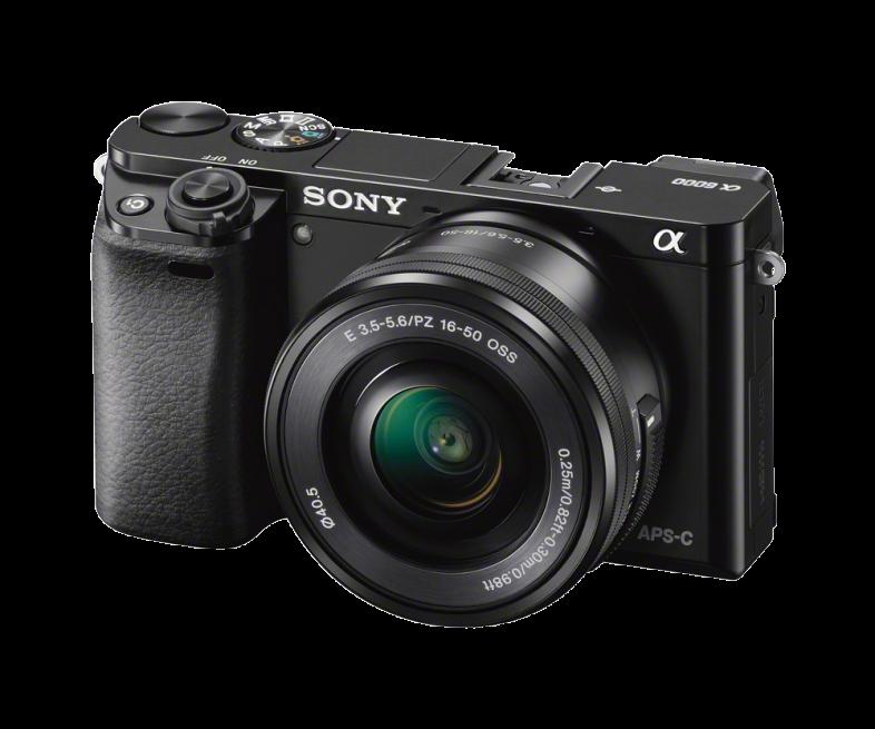 SONY Alpha A6000 černý + 16-50 mm + 55-210 mm